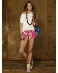 Denim & Supply Ralph Lauren - Island Floral Minishort - Lyst