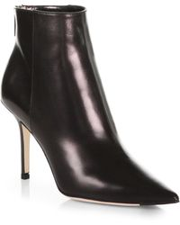 Jimmy Choo Amore Leather Ankle Boots - Lyst
