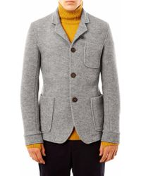 Oliver Spencer Plymouth Tailored Wool Jacket - Lyst