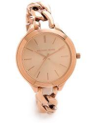 Michael Kors Slim Runway Twist Watch - Lyst