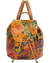 Patricia Nash - Cascape Leather Backpack - Lyst