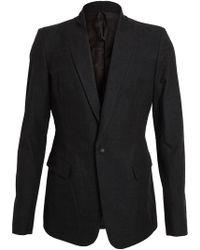 The Viridi-anne - Tailored Cottonwool Jacket - Lyst