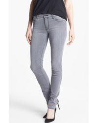 J Brand Rail Mid Rise Skinny Jeans - Lyst