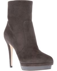 Jimmy Choo Platform Ankle Boot - Lyst