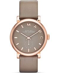 Marc By Marc Jacobs Baker Strap Watch, 36.5Mm gold - Lyst