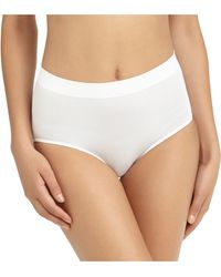 Brooks Brothers Wacoal Seamless Full Brief white - Lyst