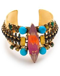 Erickson Beamon - Aquarella Do Brasil Cuff Bracelet - Lyst