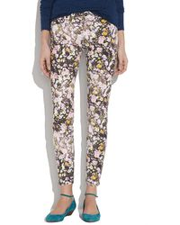 Madewell Skinny Skinny Ankle Jeans In Sungarden - Lyst