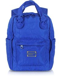 Marc By Marc Jacobs - Bauhaus Blue Nylon Knapsack - Lyst