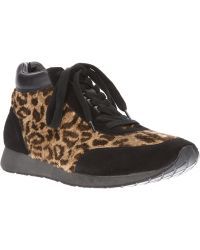 Yohji Yamamoto Leopard Print Sneaker - Lyst