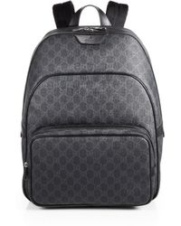 Gucci Gg Backpack - Lyst