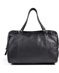 See By Chloé Leather Duffle Bag in Black - Lyst
