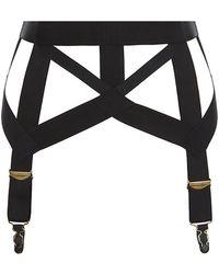 Agent Provocateur Whitney Suspender Belt - Lyst