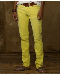 Denim & Supply Ralph Lauren Slim Fit Colored Jeans - Lyst