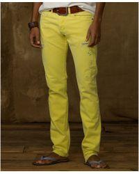 Denim & Supply Ralph Lauren Slim Fit Colored Jeans - Lyst
