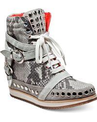Modern Vice - Cindi Wedge Sneakers - Lyst