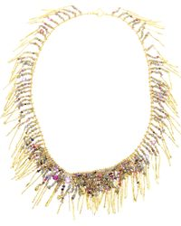 Natasha Collis | 18Ct Yellow Gold Treasure Necklace | Lyst