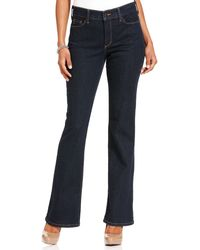 Not Your Daughter's Jeans Nydj Sarah Stretch Bootcut Jeans Blue Black Wash - Lyst