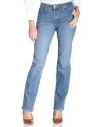 Not Your Daughter's Jeans Nydj Hayden Straight Leg Jeans Montreal Wash - Lyst