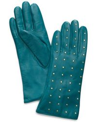 Tory Burch | Studded Leather Gloves | Lyst