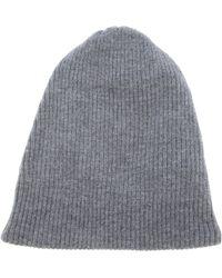Acne Studios Spring Merino Beanie Hat - Lyst
