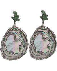 Arunashi - Abalone Shell Earrings - Lyst