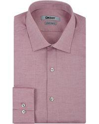 DKNY Slim Fit Natural Stretch Dress Shirt - Lyst