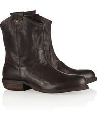 Fiorentini + Baker Cruna Oiledleather Ankle Boots - Lyst