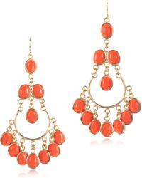 Isharya - Agate Gypsy Earrings - Lyst