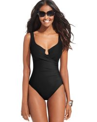 Miraclesuit Escape One-Piece Swimsuit - Lyst