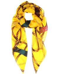 Ralph Lauren - Printed Silk Scarf - Lyst