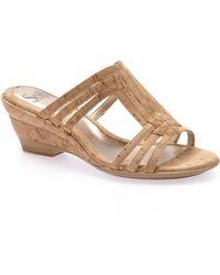 Söfft - Imola Wedge Sandals - Lyst