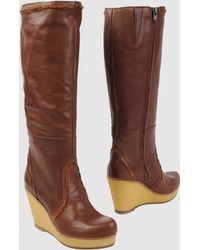 Fiorina High-Heeled Boots - Lyst