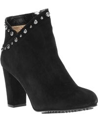 Moschino Cheap & Chic Studded Ankle Boot - Lyst