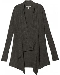 Autumn Cashmere New Cashmere Ribbed Cardigan - Lyst