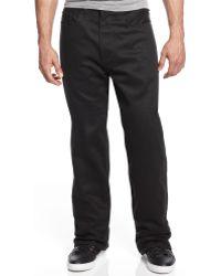 Sean John Garvey Overdyed Black Jeans - Lyst