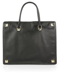 Valentino Studded Tote Bag - Lyst