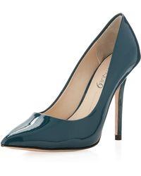 Boutique 9 Justine Patent Pump Dark Turquoise - Lyst