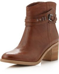 Boutique 9 Clarnella Ankle Boot Medium Brown - Lyst