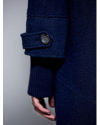 Free People Toggle Wool Coat - Lyst