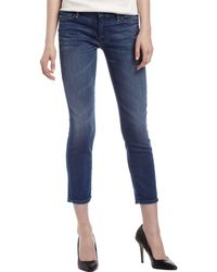 Mother Looker Cropped Skinny Jeans 32 - Lyst