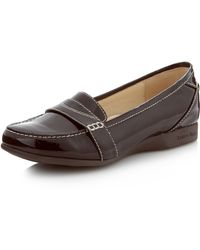 Taryn Rose Terry Patent Loafer - Lyst