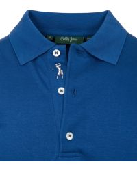 Bobby Jones - Solid Iquid Cotton Polo Shirt - Lyst