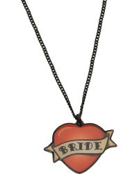 Tatty Devine - Bride Necklace - Lyst