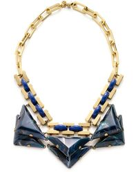 Tory Burch - Ethan Collar Necklace - Lyst