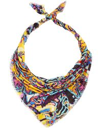 Christopher Kane - Multicolour Brain Print Scarf - Lyst