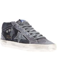 Golden Goose Deluxe Brand Leather Blend Midstar Trainer - Lyst