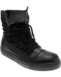 Kris Van Assche - Leather Laced Hi-top - Lyst