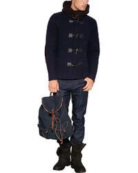 Ralph Lauren | Canvas Loaser Backpack Patch in Navy | Lyst