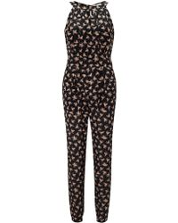 Somerset by Alice Temperley - Diamond Print Trousers - Lyst